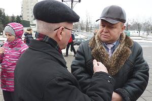 Василий Боробов верит в мудрость губернатора Фото: Двести РУ