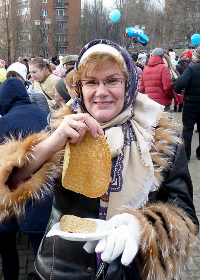 Кандидат от партии блинов