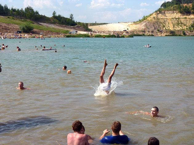 Дзержинский карьер, 2010 год Фото: Двести РУ