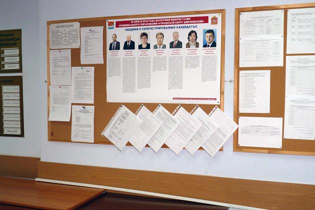 Кандидаты в помещении ТИК Фото: Двести РУ