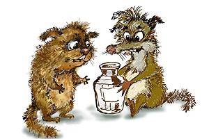 Фикс и Фукс Иллюстрация Двести РУ, 2009 г.