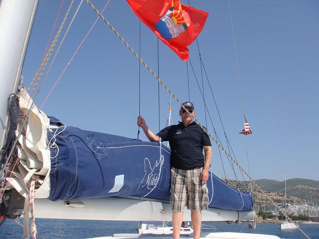Под дзержинским флагом - в открытое море
