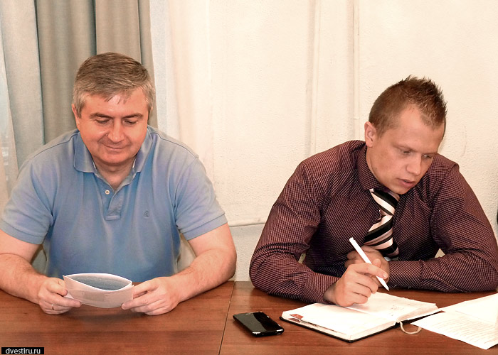 Сергей Плетосу и Дмитрий Боробов