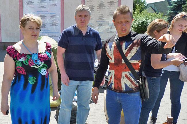 Людмила Саютина, Сергей Плетосу и Дмитрий Боробов