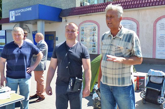 Коммунисты, вперед! Артур Шлыков и Валерий Лазарев