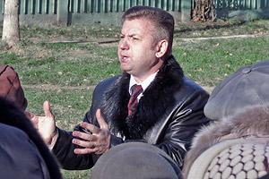 2011 год. Встречи кандидата Панаморенко с электоратом Фото: Двести РУ архив