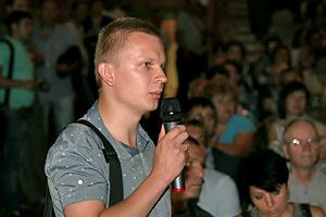 В. Лактюшин: «Я четко вижу запрос общественности» Фото: Двести РУ