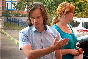 Кандидат Овсянкин встречается с избирателями Фото: Двести РУ