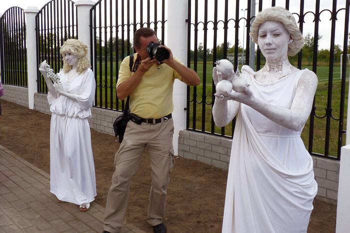 Ожившие статуи