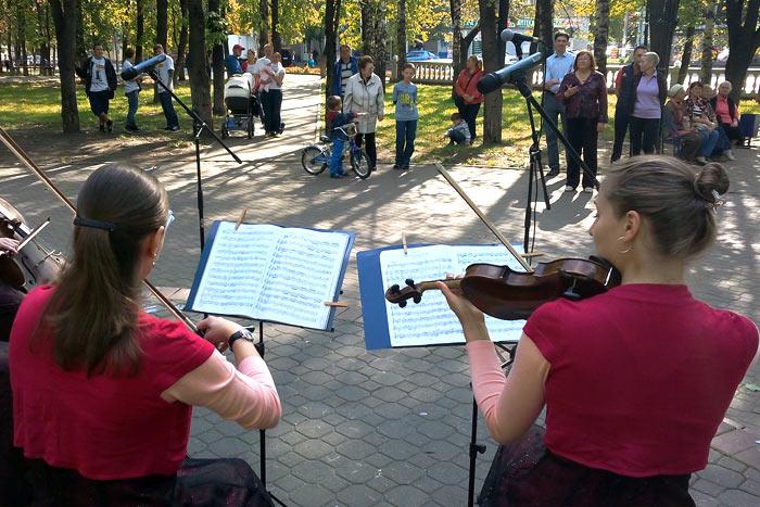 В Дзержинском тоже умеют слушать Моцарта