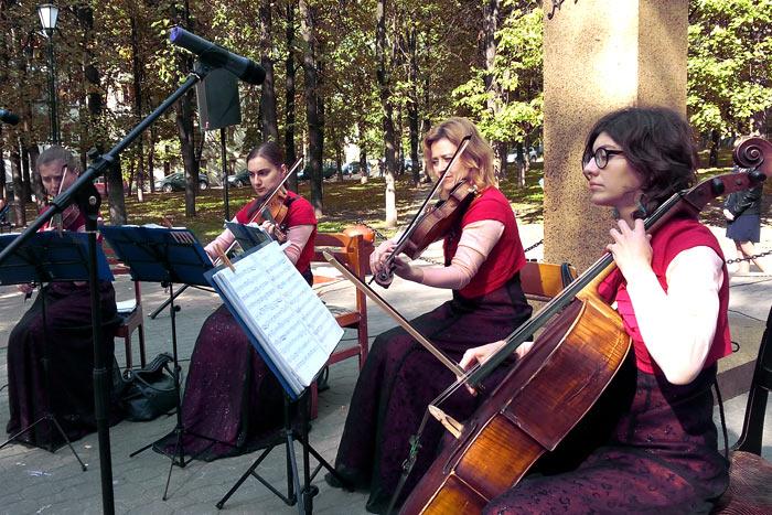 Квартет «Элеганс» из Москвы - прекрасные исполнительницы классики
