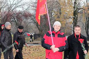 Акция у памятника Дзержинскому Фото: Коммунисты России