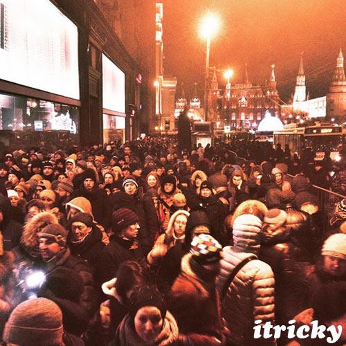 Тверская, 30 декабря 2014