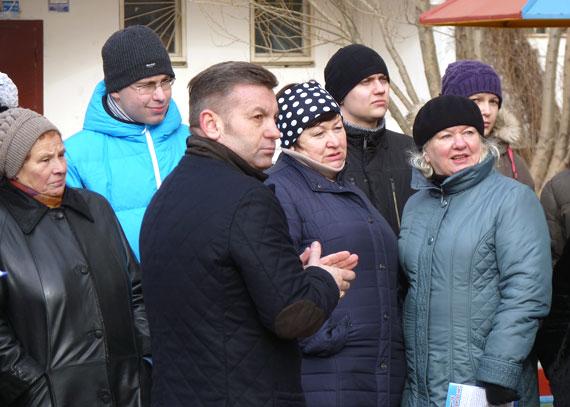 Встреча с избирателями, 2014 год