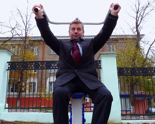 Виталий Панаморенко победил на выборах 2014 года и стал главой города Дзержинского
