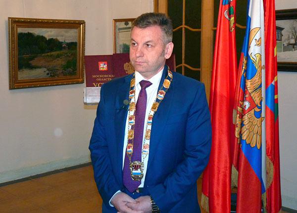 Виталий Панаморенко. Инаугурация