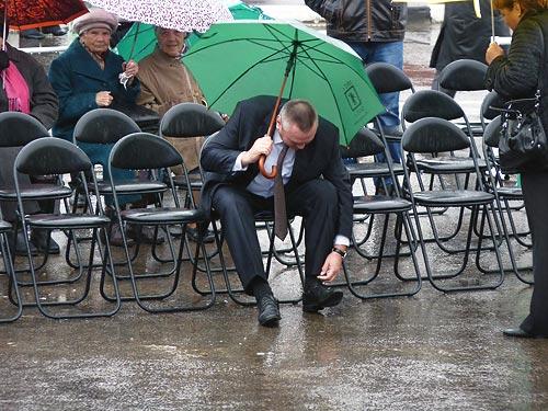 Алексей Плешаков на Дне города-2013 Фото: Двести РУ