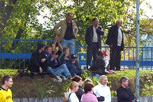 Тысячи болельщиков на стадионе «Орбита» Фото: Двести РУ