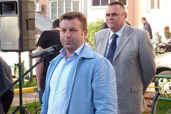 Виталий Панаморенко и Алексей Плешаков, 2011 год