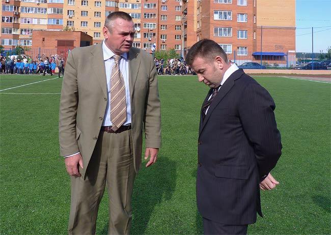 Алексей Плешаков и Виталий Панаморенко, 2012 год