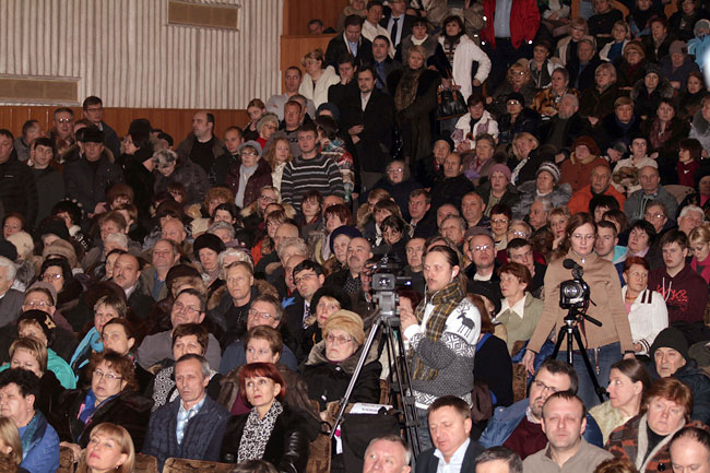 Внеочередное общегородское собрание, январь 2014