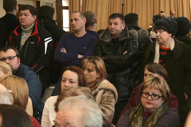 Виталий Панаморенко на историческом заседании. Через два с половиной месяца он станет мэром