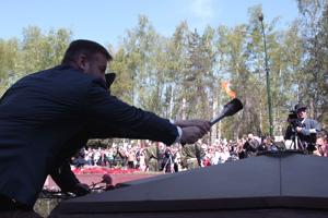 Вечных огней в России стало больше Фото: Двести РУ